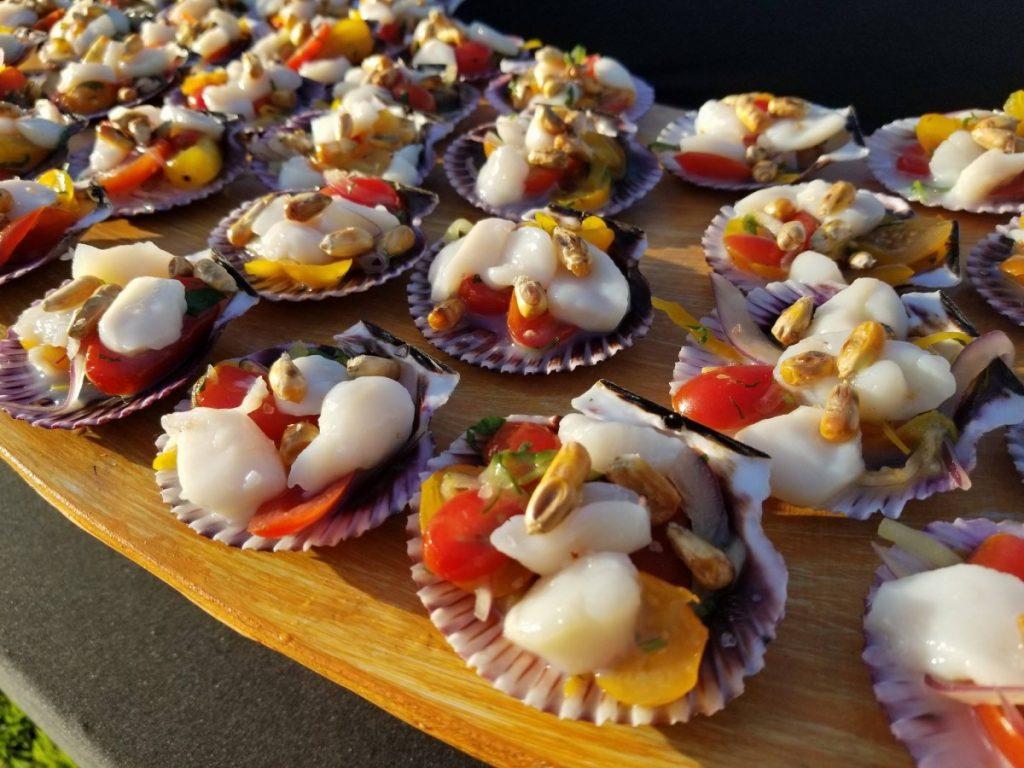 Siesta Key oyster bar dish