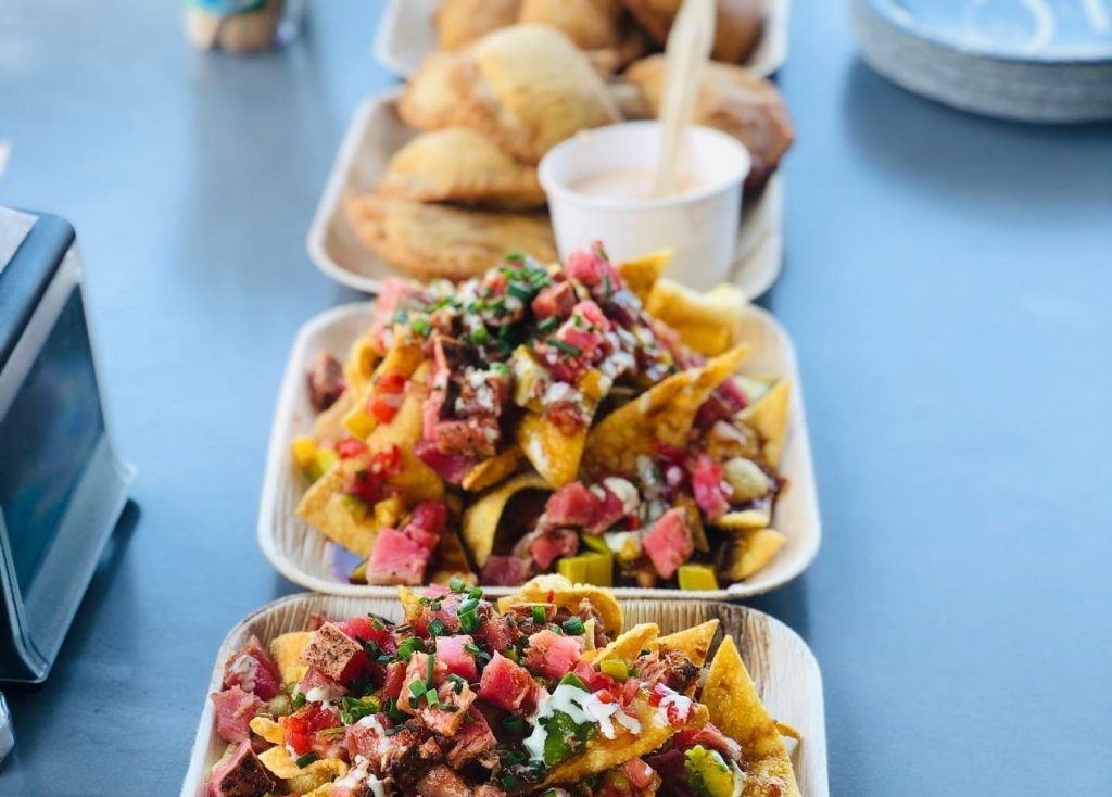 nachos from Spearfish Grille in Siesta Key