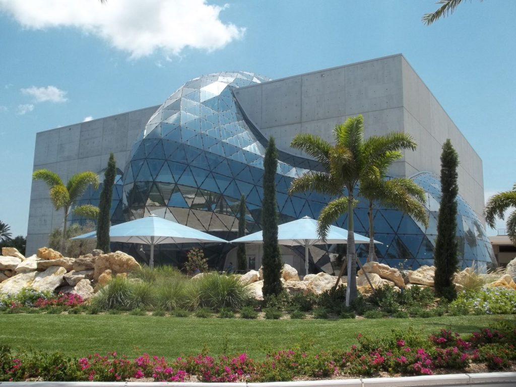 view of the salvador dali museum